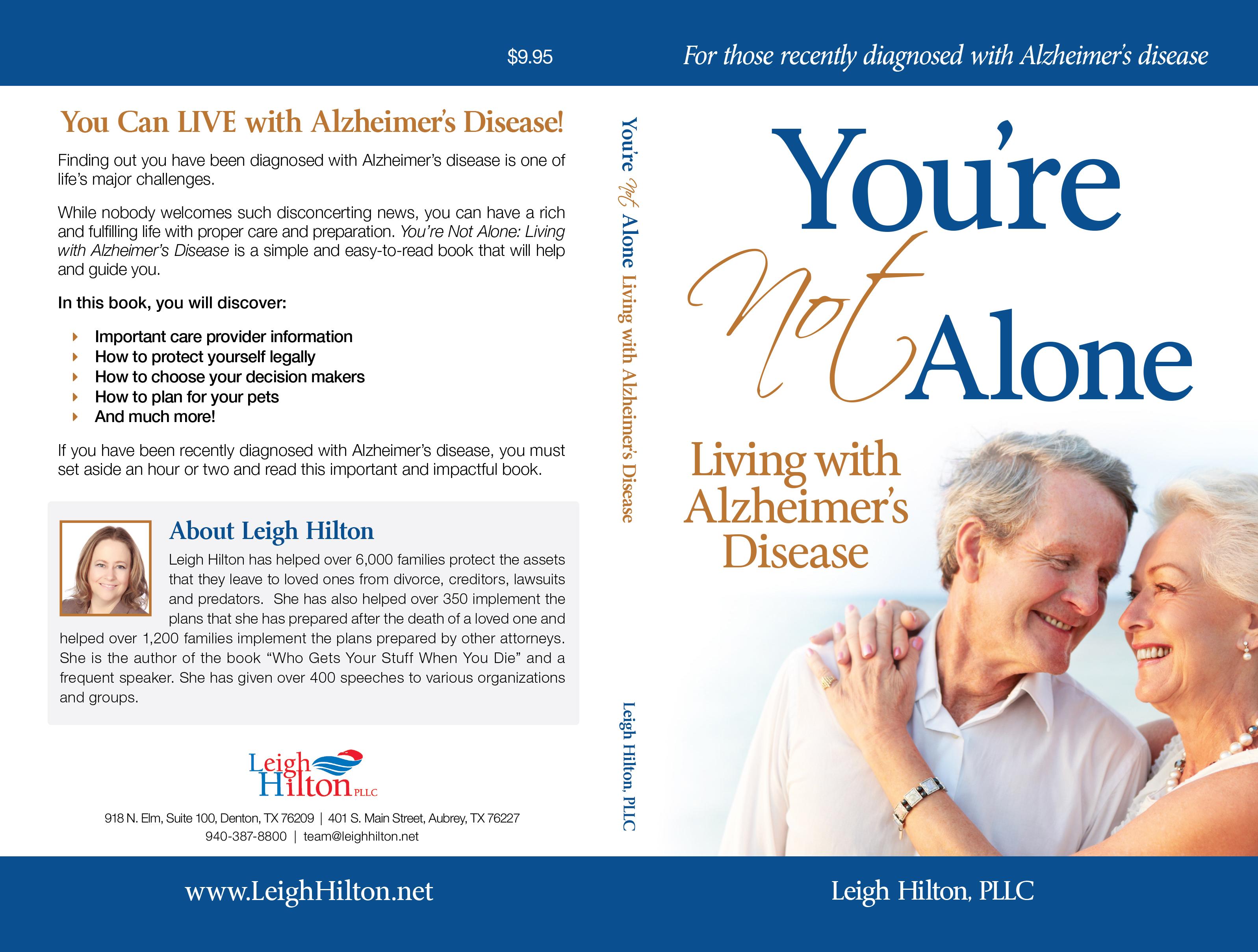 Alzheimer's Disease books: Living with Alzheimer's Disease book